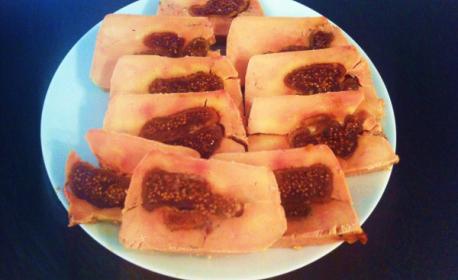 Terrine de Foie Gras de canard aux figues - 240g