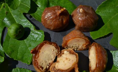 Figues au foie gras entier par 6 (+/- 165g)