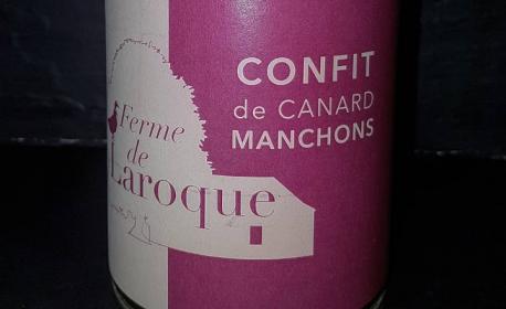 Confit de canard 5/6 Manchons