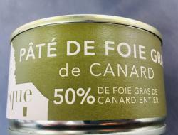 Pâté de foie gras de canard 50%
